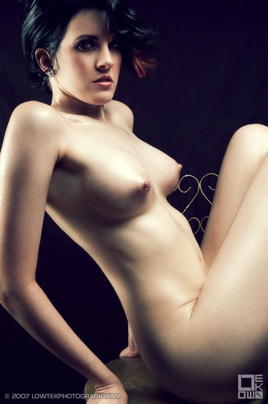 Nerd Tattoos Model: Fela Fray Hair/Makeup: Jennifer Denise ©2007 Low Tek Photography