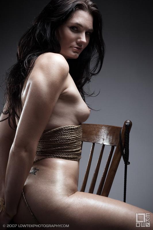 Bound. Model: Tempast. ©2007 Low Tek Photography