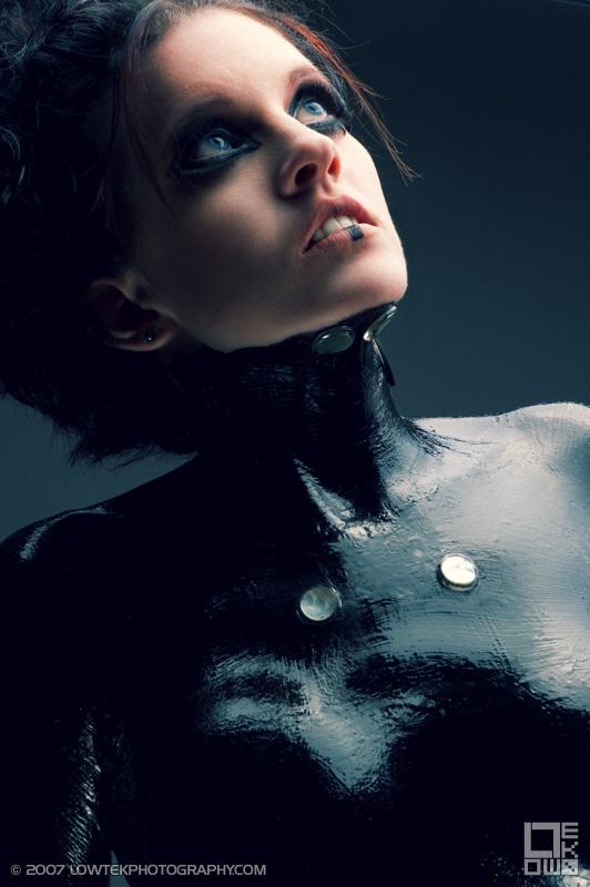 Anime Future Suit Model: Fela Fray Makeup: Jennifer Denise ©2007 Low Tek Photography