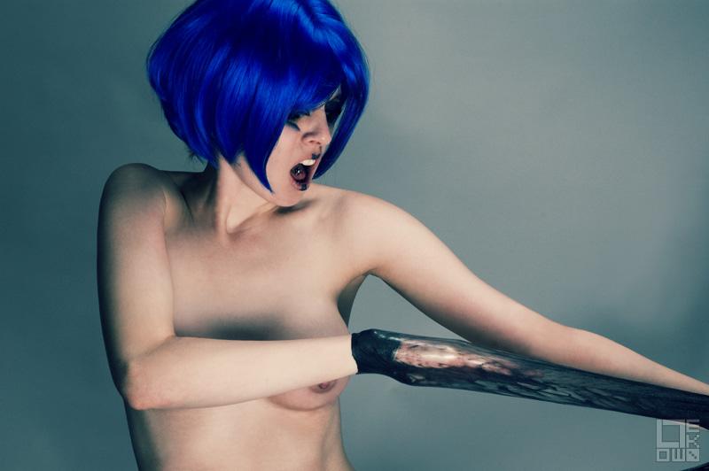 Peeled Model: Fela Fray Makeup: Jennifer Denise ©2007 Low Tek Photography