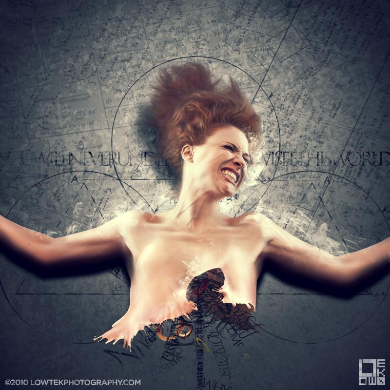 Anhedonic Rage. Model: Zoe Simone. ©2010 Low Tek Photography