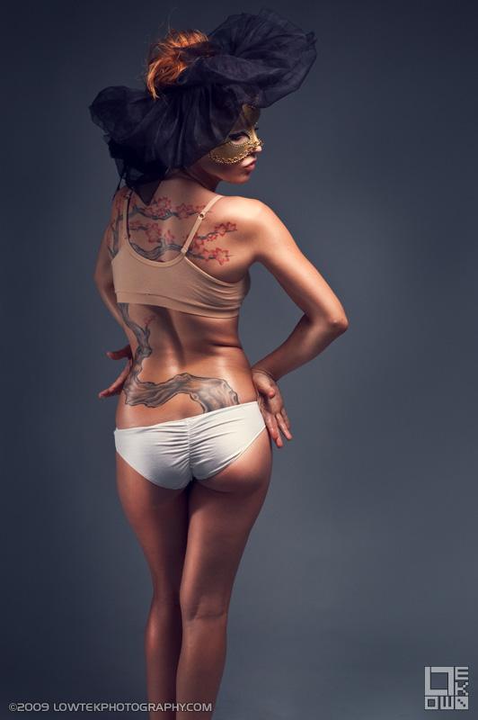 Dance. Model: Zoe Simone. ©2009 Low Tek Photography