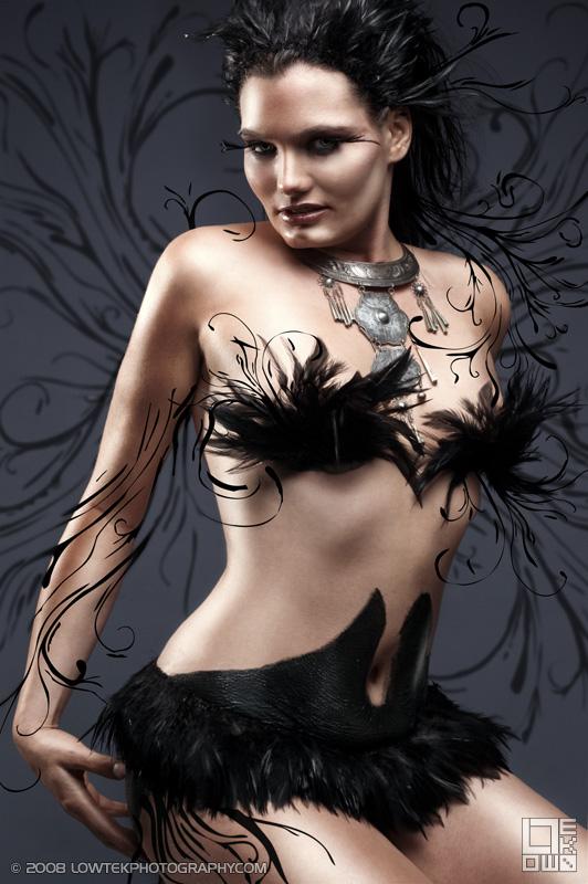 Black Queen. Model: Tempast. ©2008 Low Tek Photography
