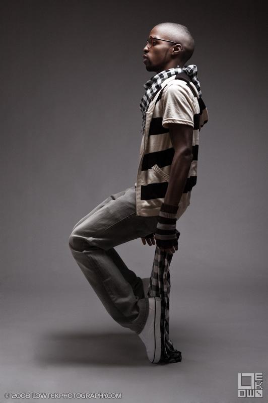Freeze. Model: BluJ ©2008 Low Tek Photography