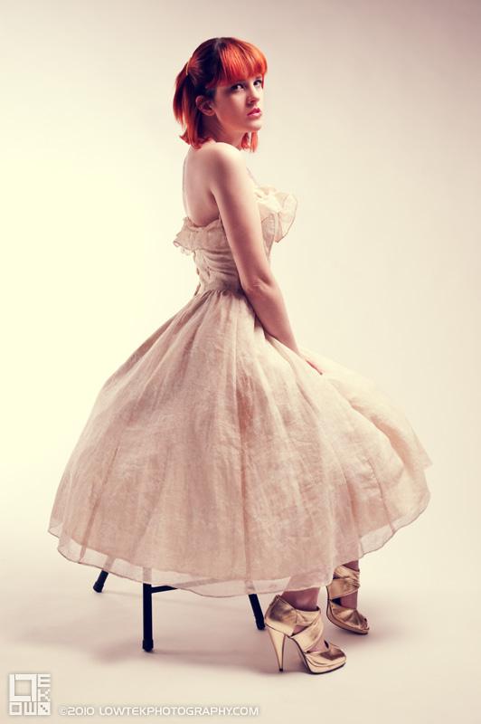 Prom Dress 2. Model: Fela Fray. ©2009 Low Tek Photography