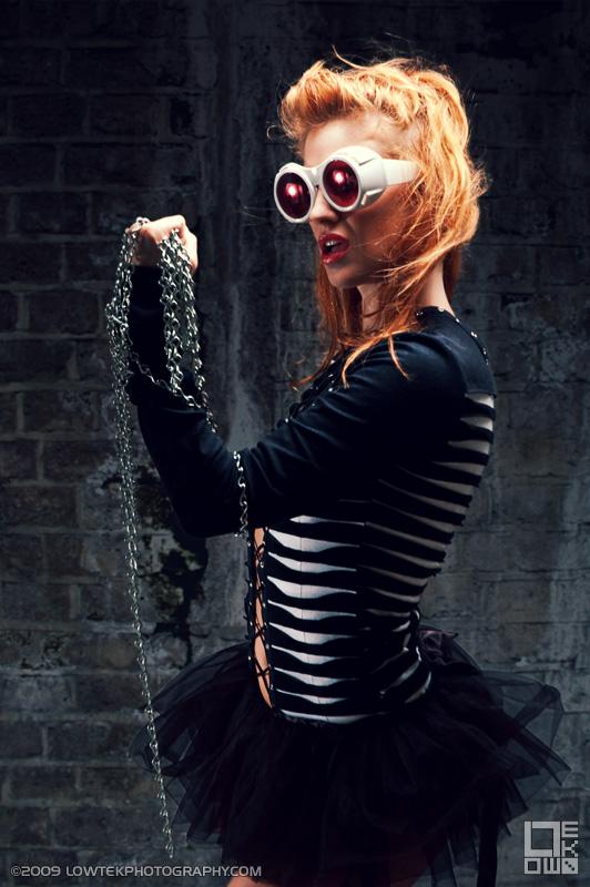 Model: Zoe Simone. ©2009 Low Tek Photography